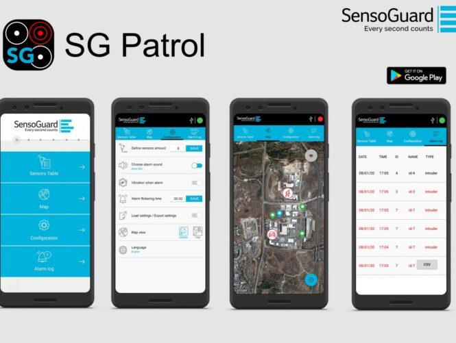 SG Patrol App View